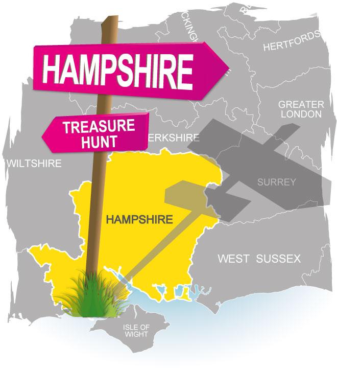 treasure hunt hampshire