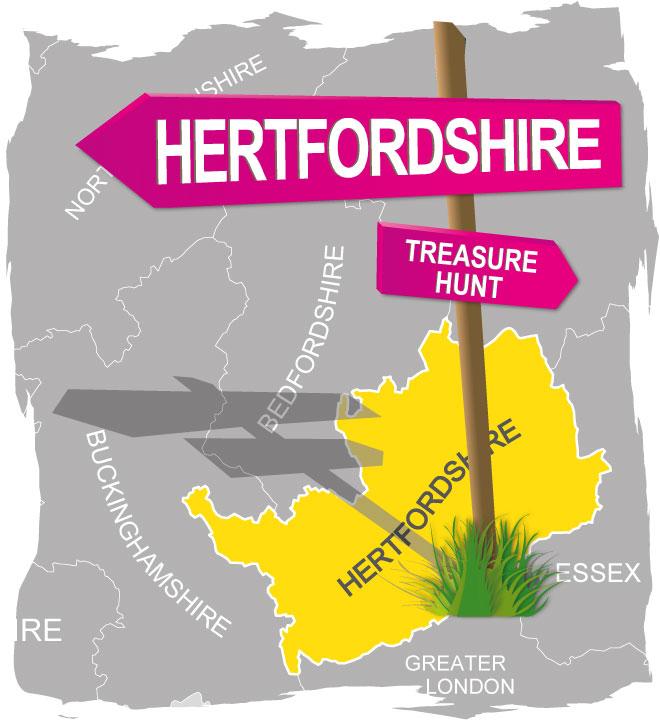 treasure hunt hertfordshire