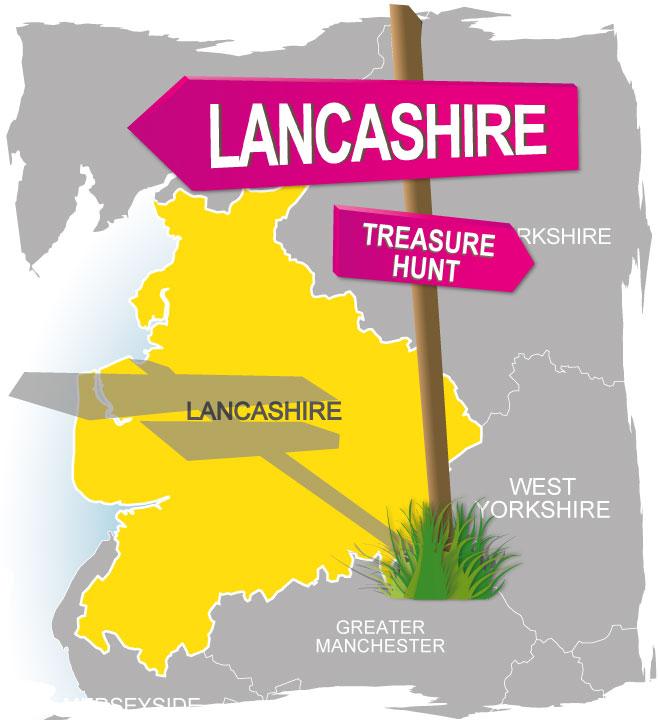 treasure hunt lancashire