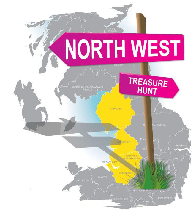 treasure hunt North West