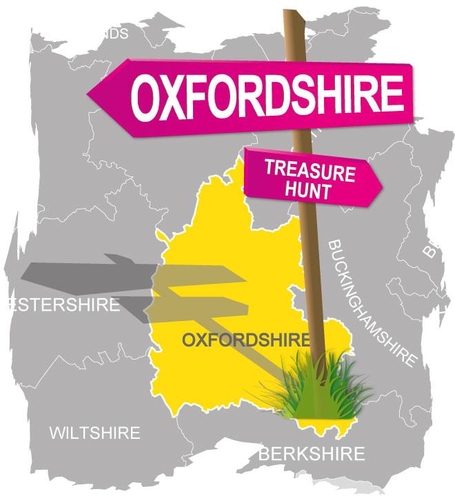 treasure hunt oxfordshire