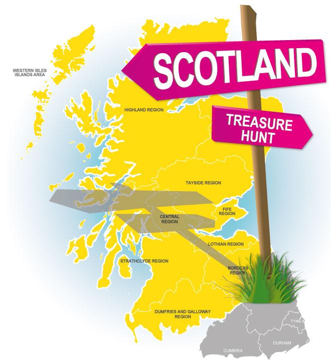 treasure hunt scotland
