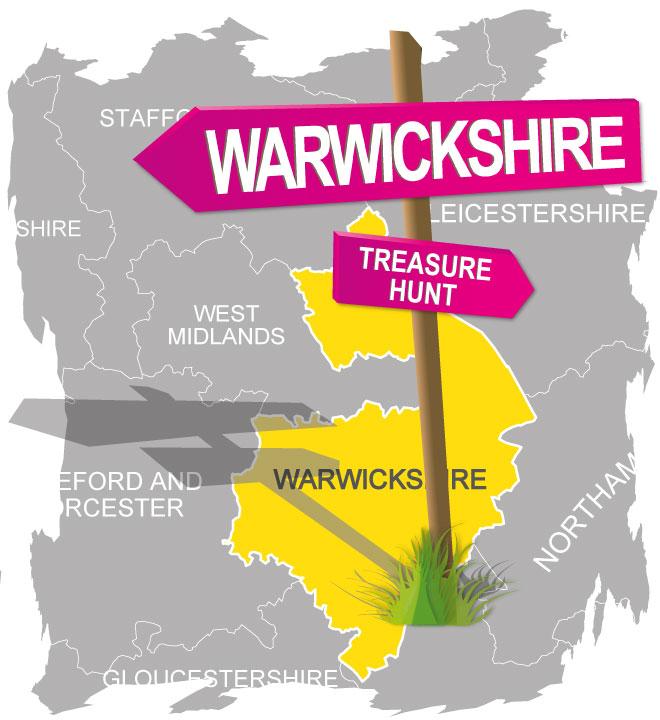 treasure hunt warwickshire