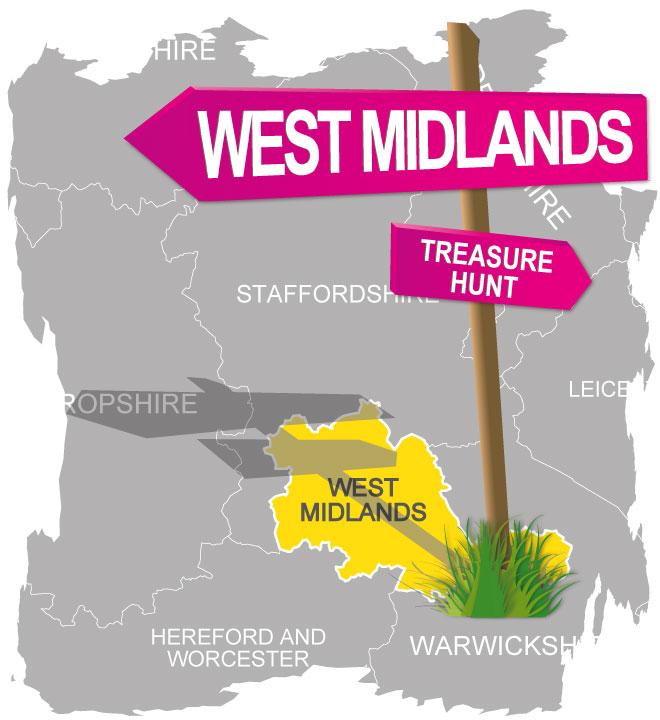 treasure hunt west midlands