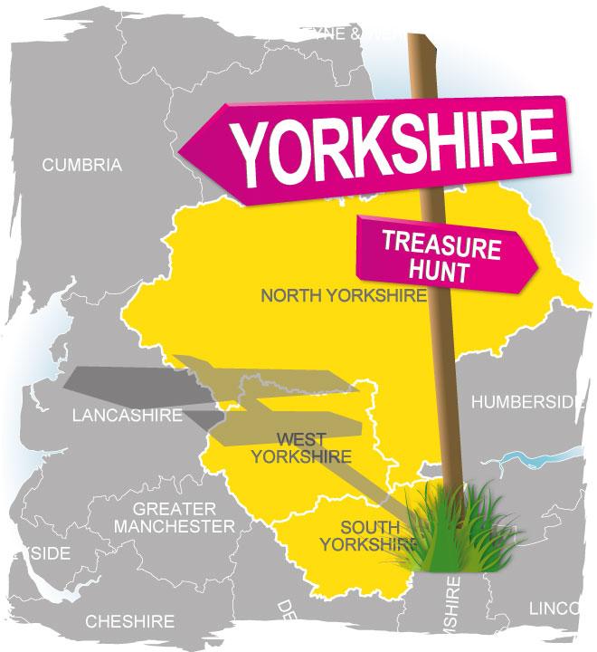 treasure hunt yorkshire