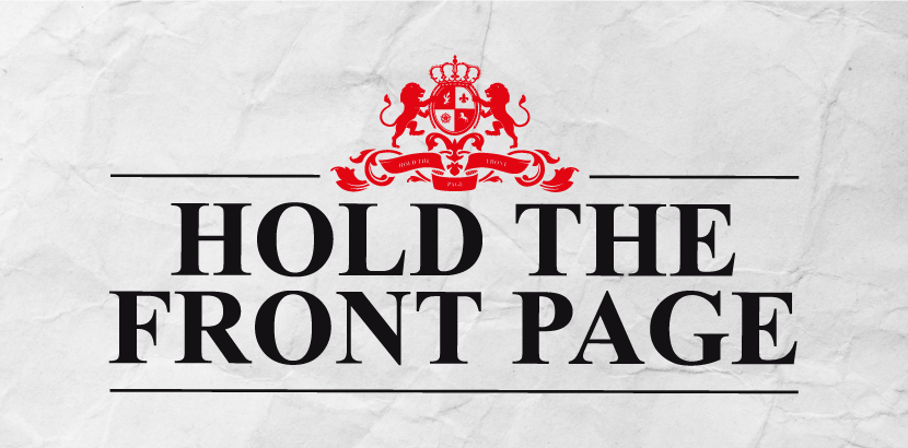 Hold The Front Page Treasure hunt
