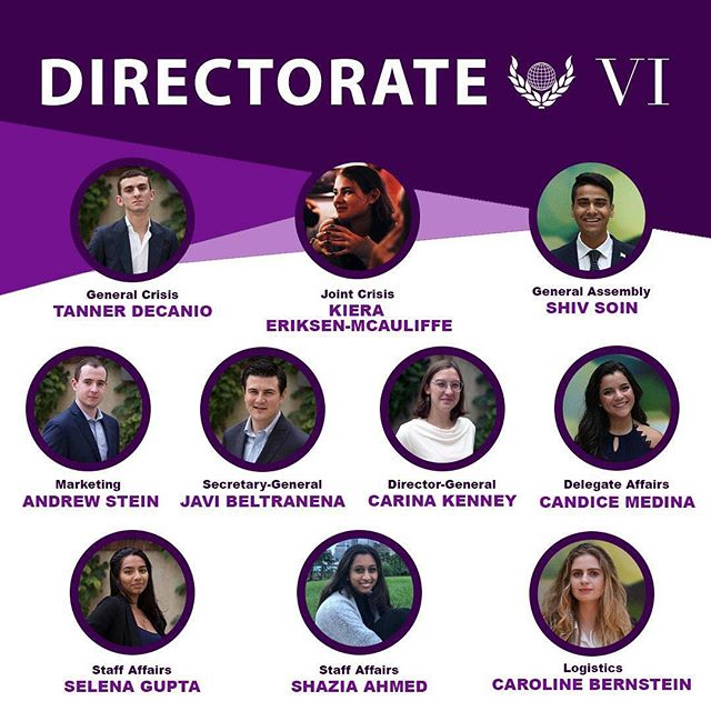 Congratulations to our new Directorate members! Thank you for wanting to join us as we build our #RoadtoVIctory
