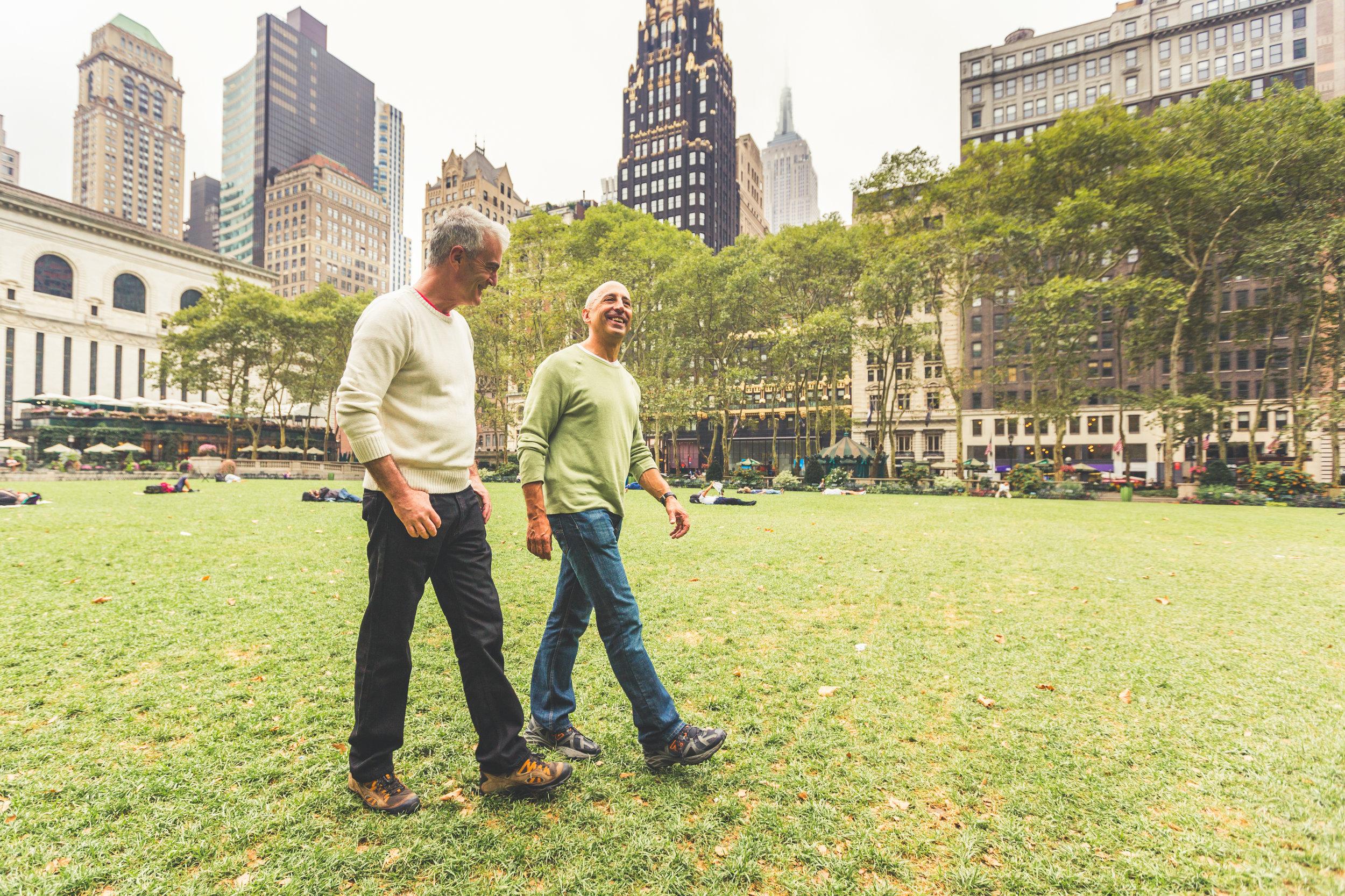 sharing memories in new york city