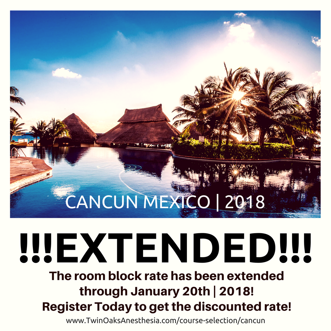 Cancun Update