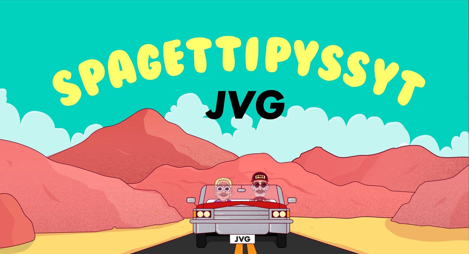 JVG - SPAGETTIPYSSYT