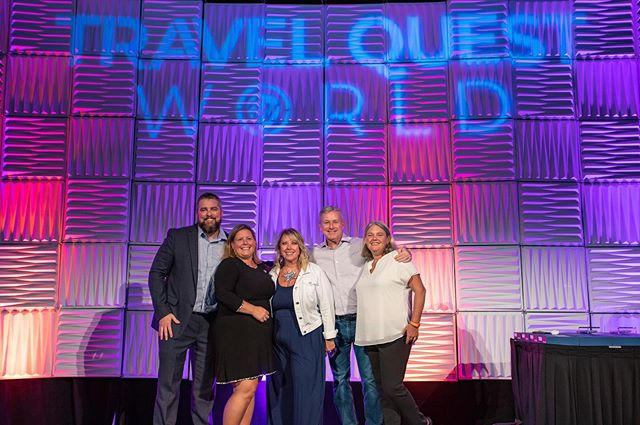 We had an amazing time at Travel Quest World! Can't wait for next year in Vegas. 📸 @lymanchen96  #travelquestworld #safeharborslife