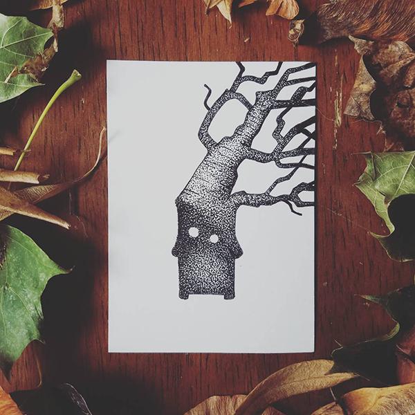 Inktober-Tree