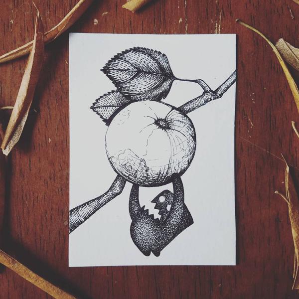 Inktober-Fruit
