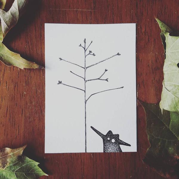 Inktober-Branch