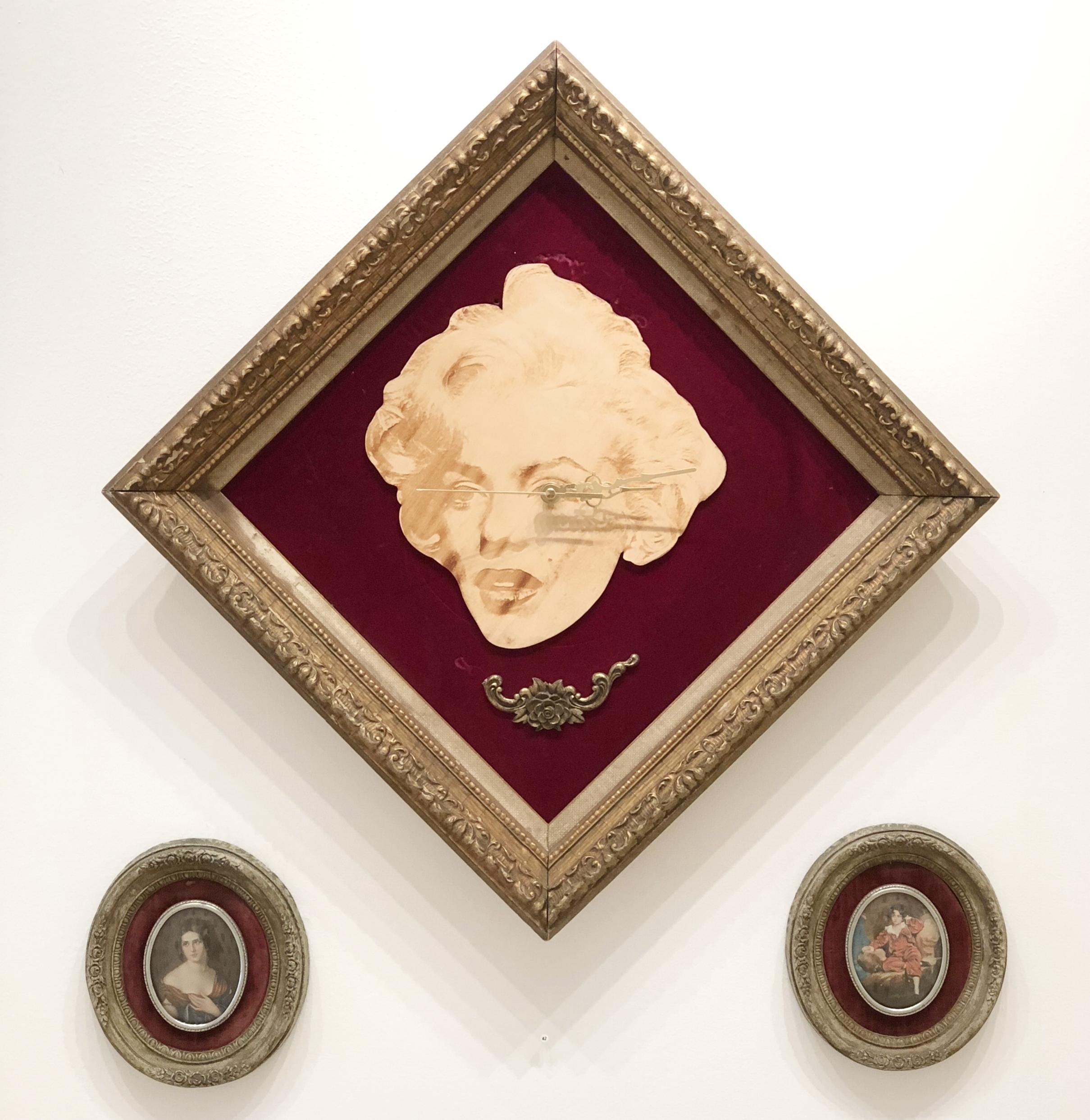 Clockwork Cros, Red Rose Marilyn Monroe Clock, 2015