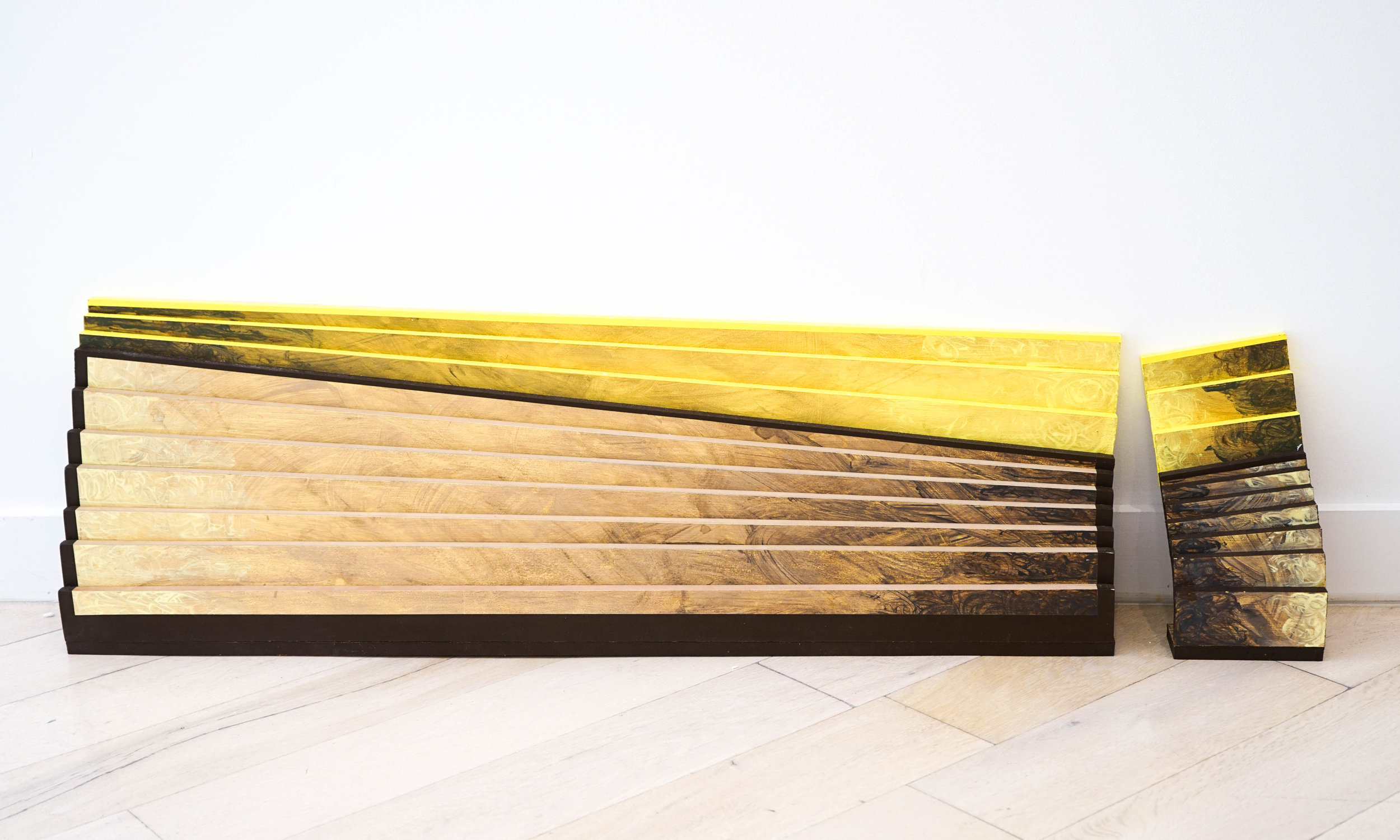 Danny Ginsburg,  Yellow Steps,  Installation view