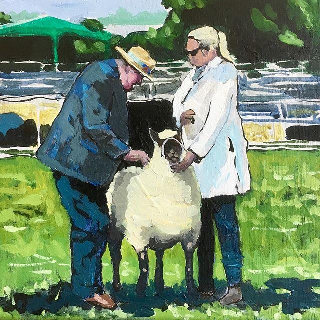Moreton in Marsh Show #moretoninmarsh #moretonshow #cotswolds #art #painting