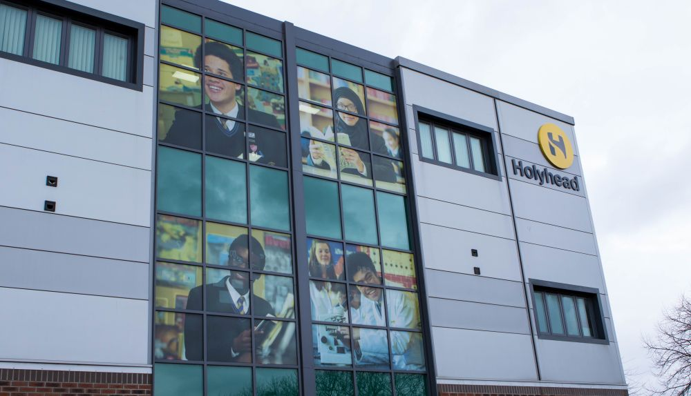 Holyhead School - click on the image to download the full case study