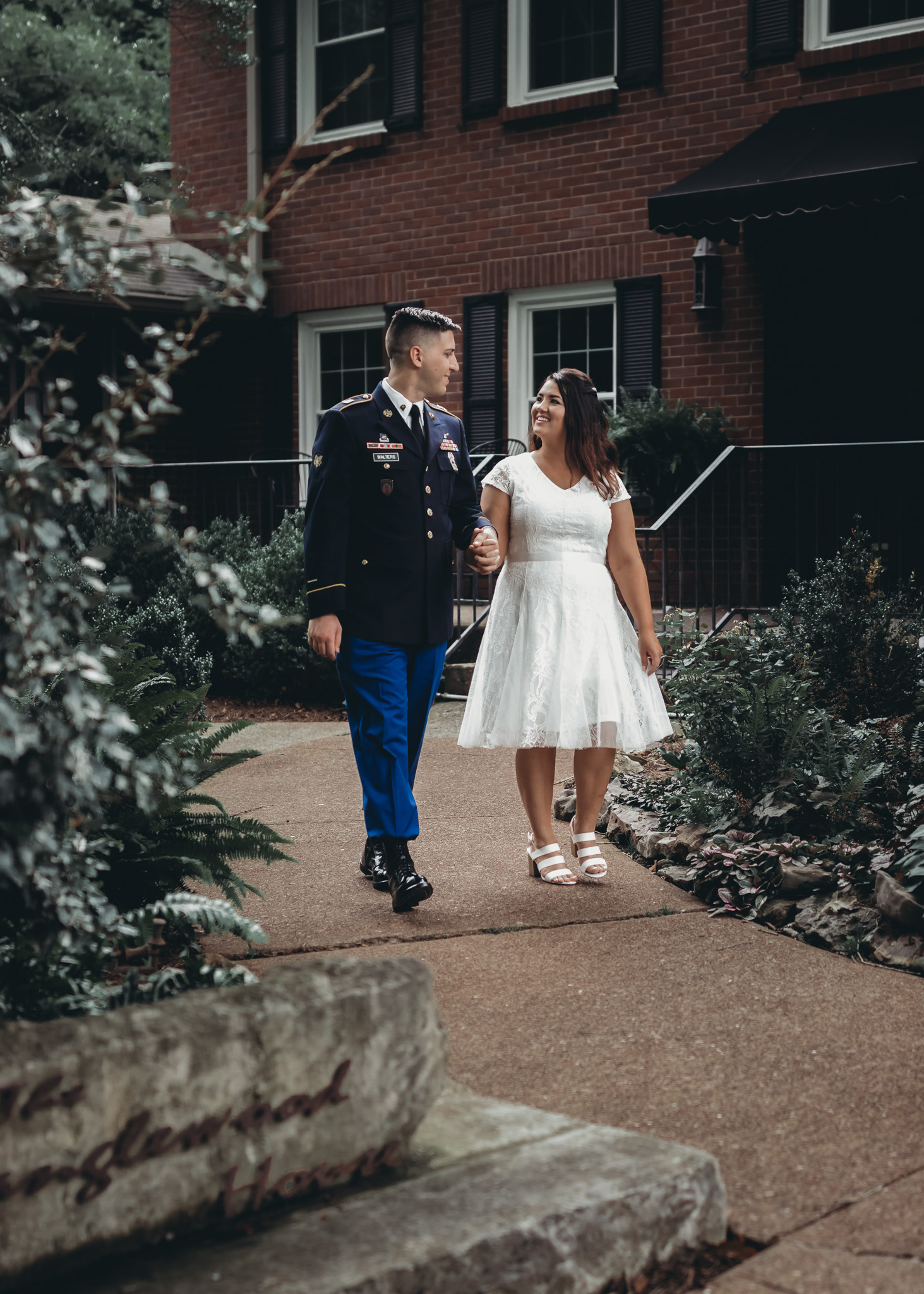 wedding at tangle woodhouse in clarksville, tn