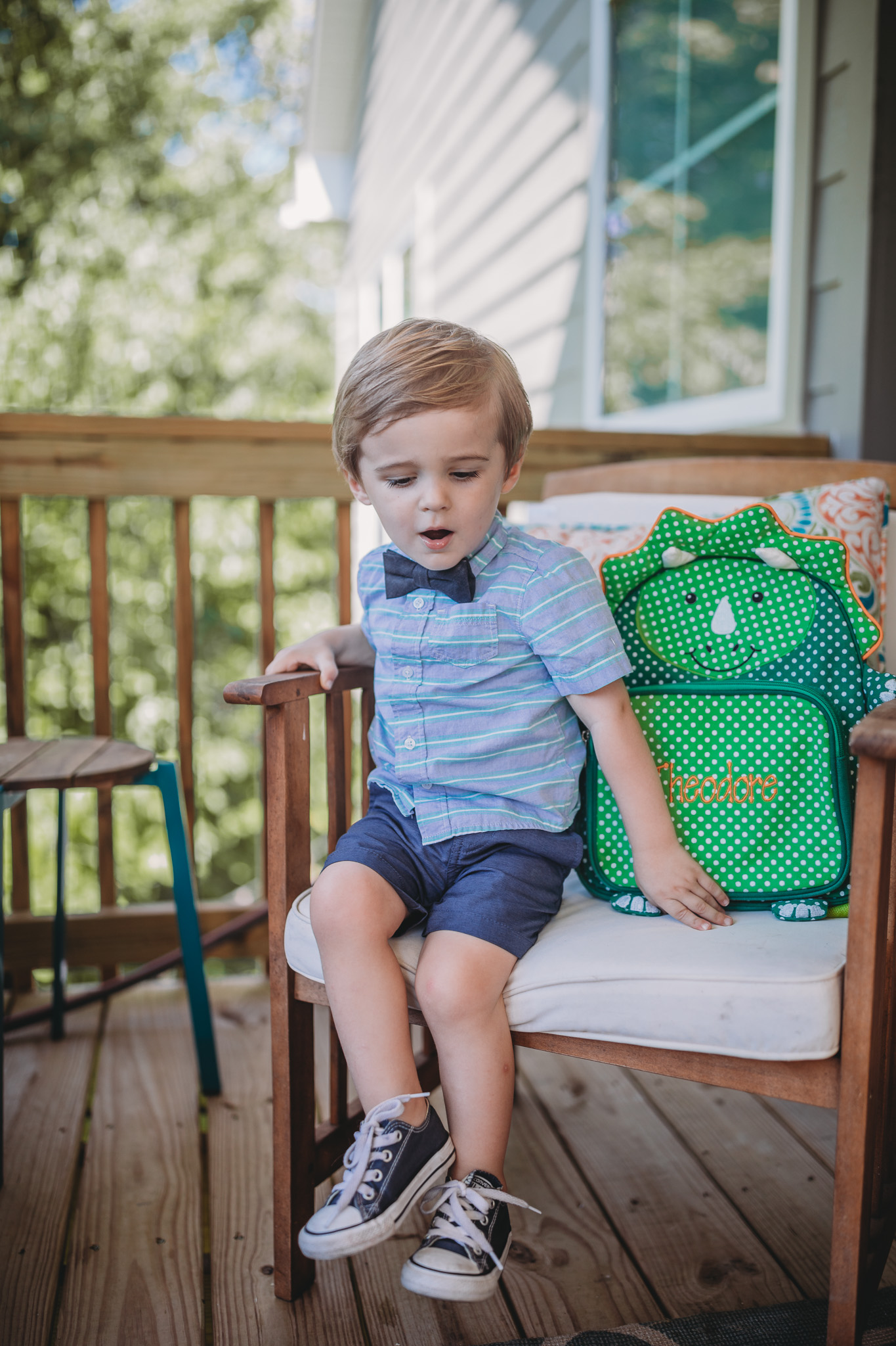 toddler and back to school