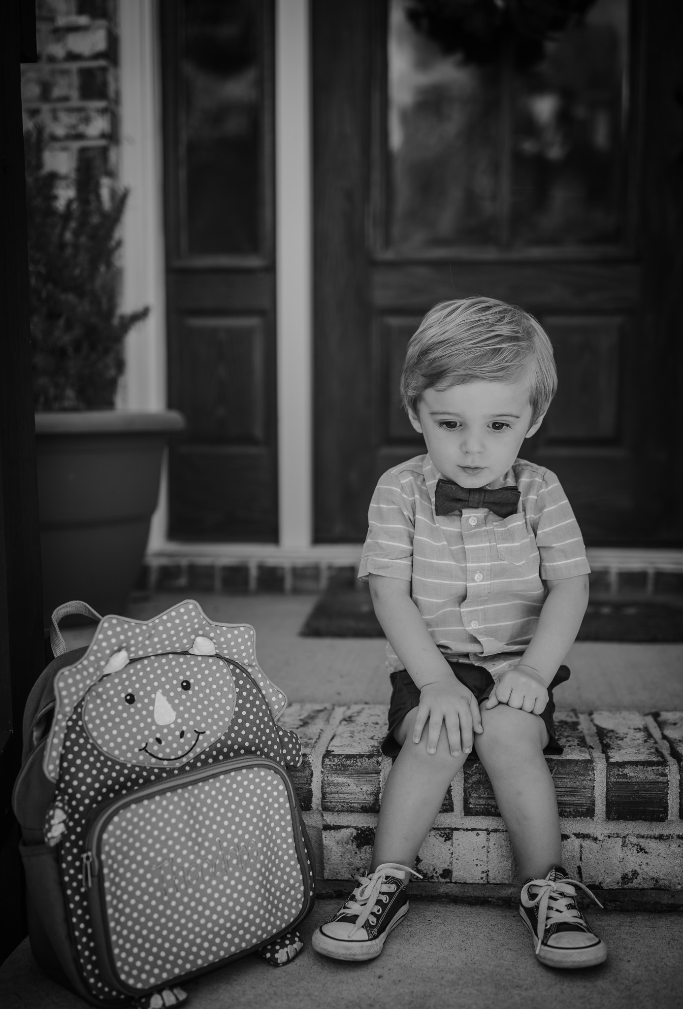 boy doesn't want to go back to school