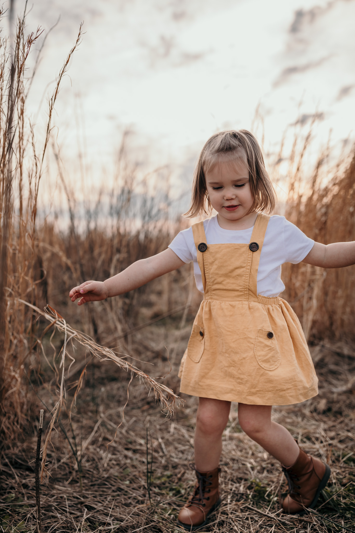 Young Dancing in Field