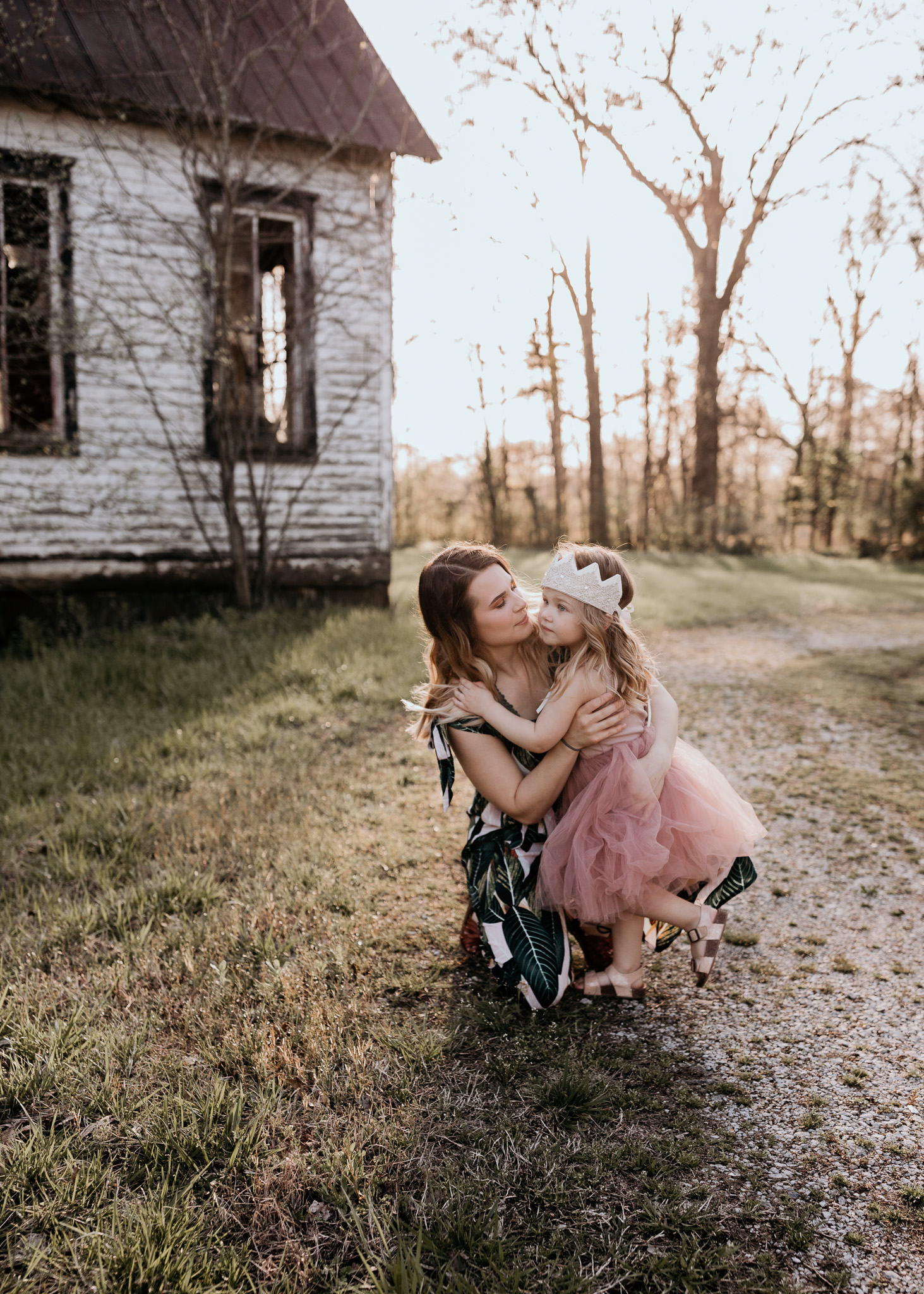 Mother and Daughter Lifestyle Photo