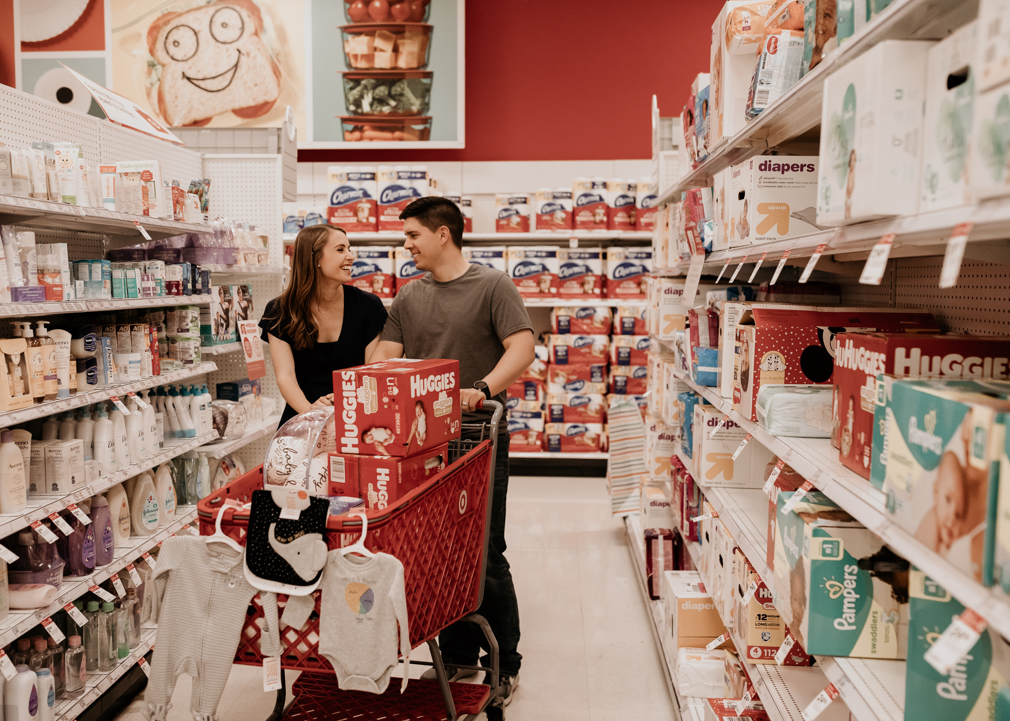Parents to Be Shopping for Baby
