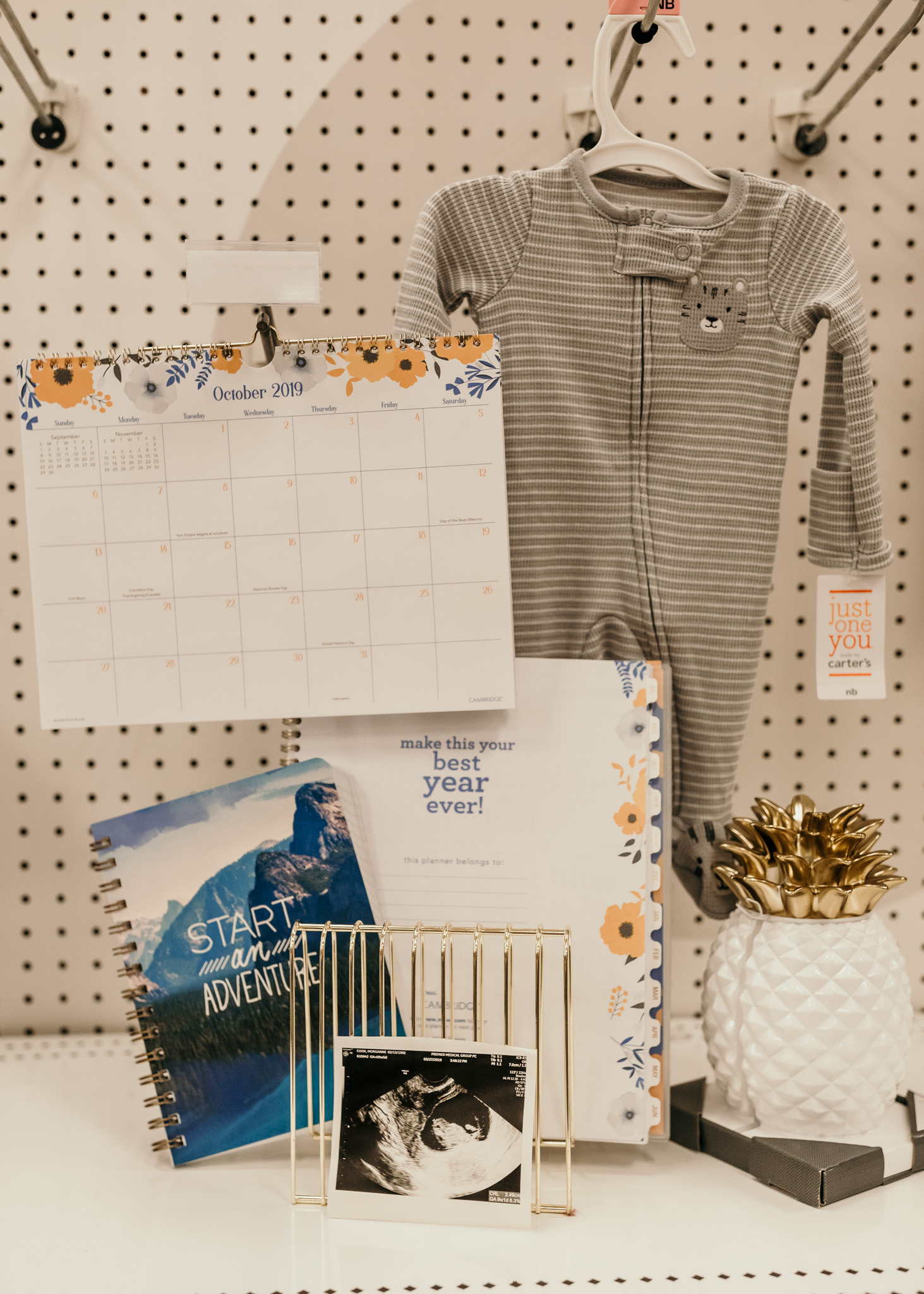 Pregnancy Announcement at Target