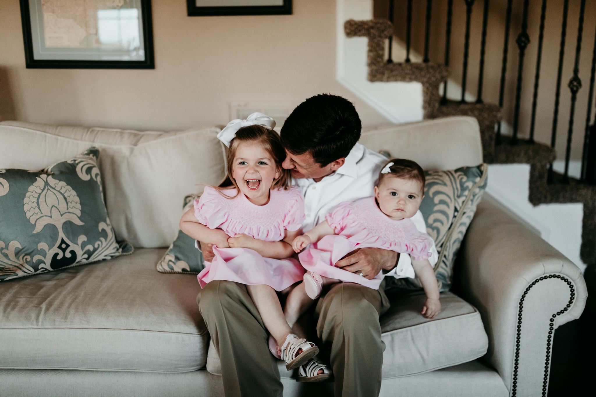 Father and Children Lifestyle Photo
