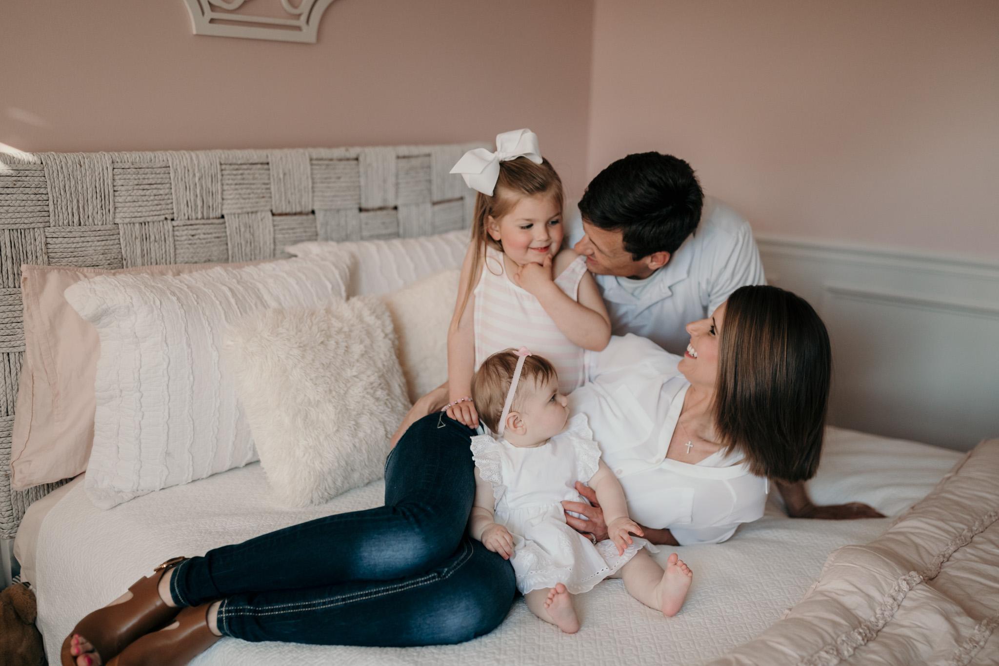 Lifestyle Photo of Family of Four