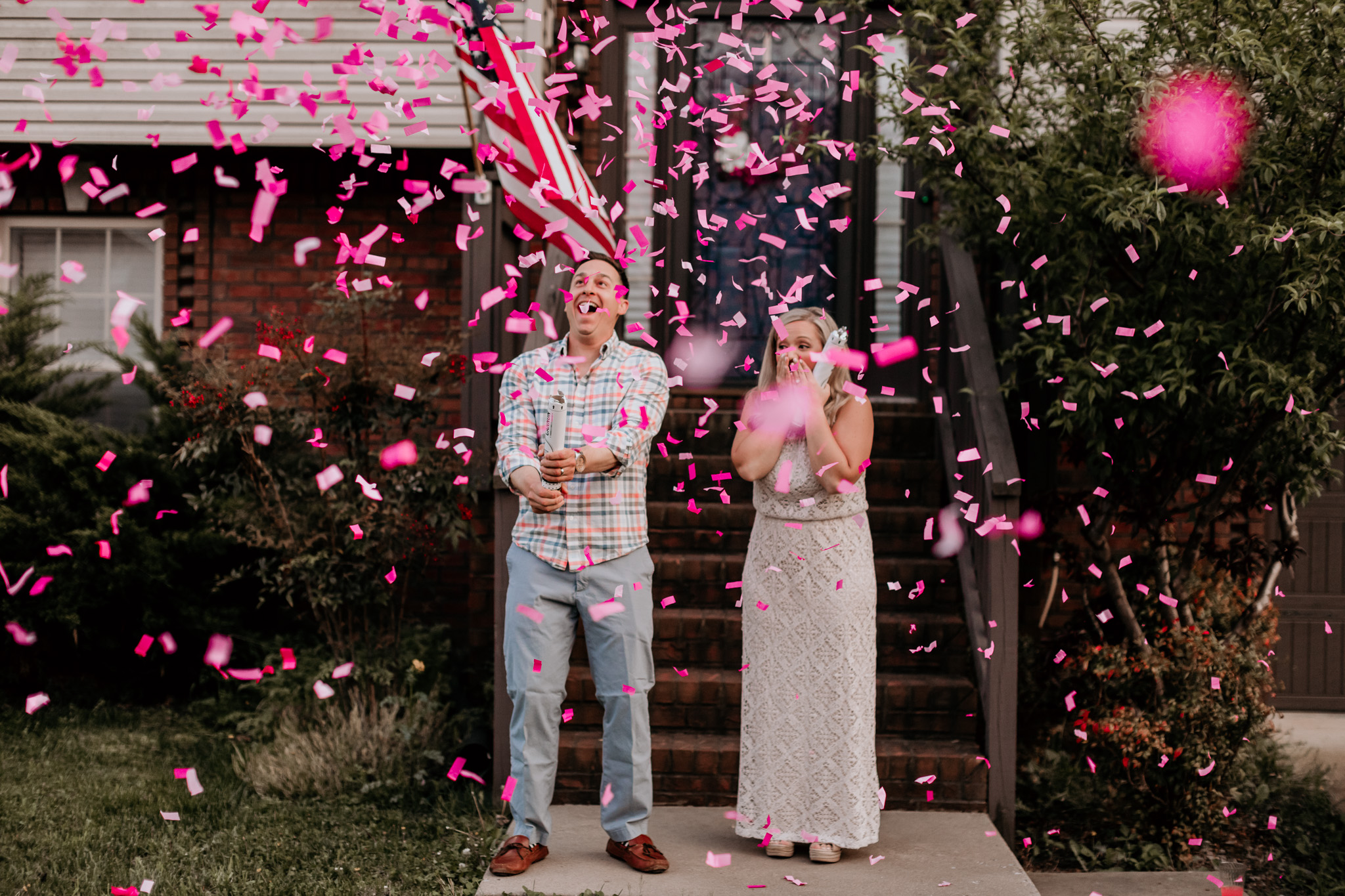 gender reveal photos in clarksville tn