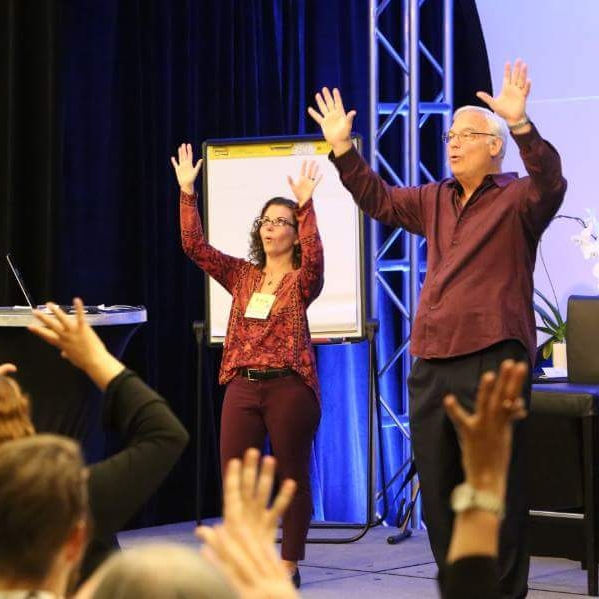 On Stage - With Jack Canfield