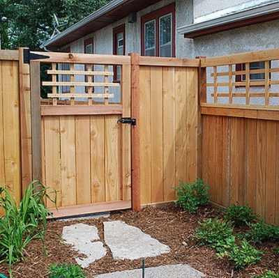 Some Types Of Fencing Wood Sereno Fence