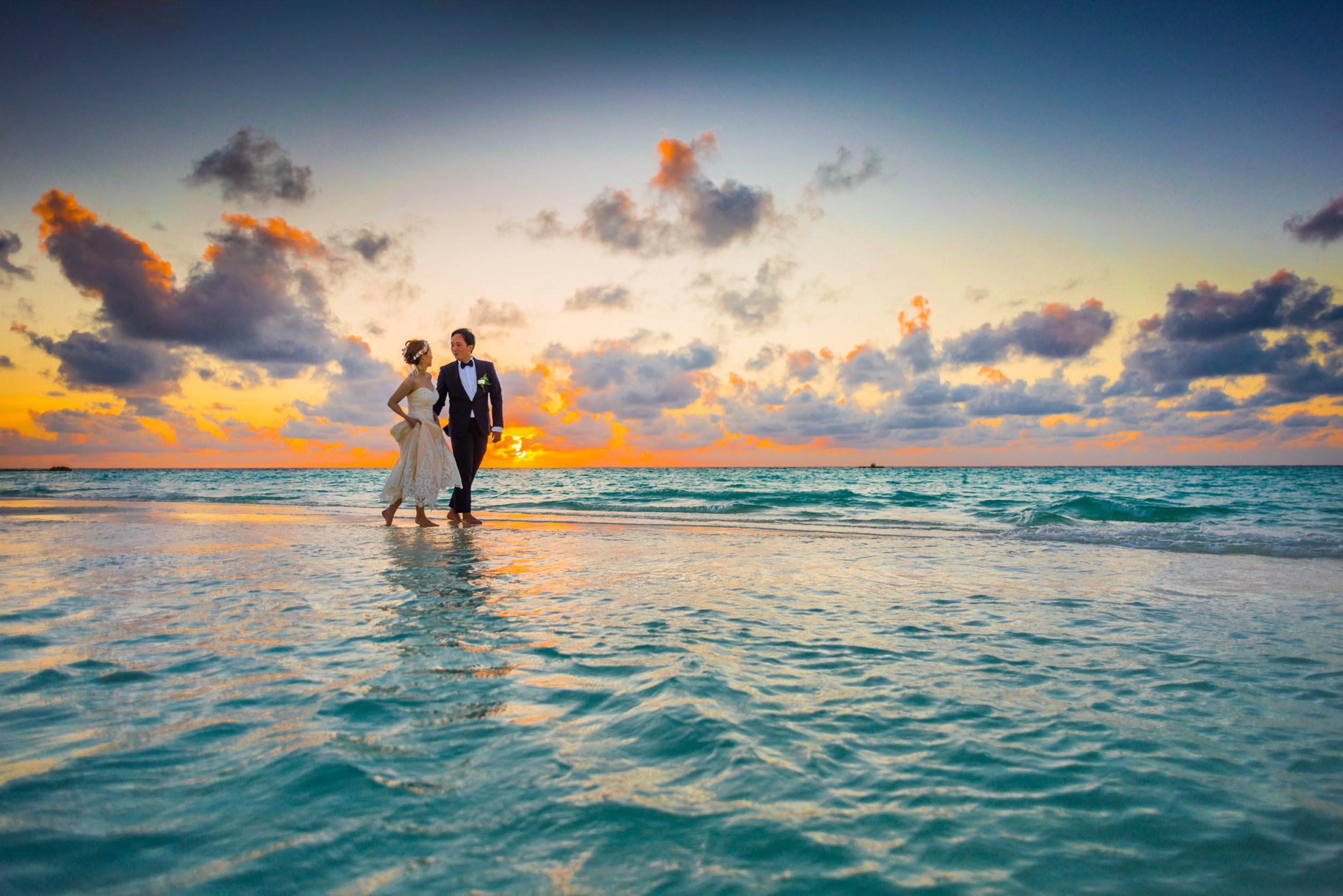 The wedding you've always dreamed of…. - With some resorts weddings are free! Ask us for more information and details on the different resorts where this is offered!