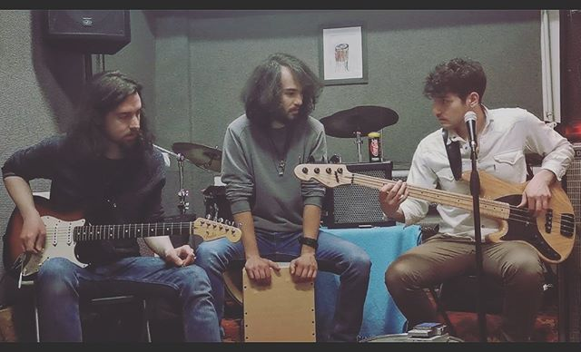 Something is coming soon your way guys. Be prepared, it's gonna be 🔥🔥🔥 . Tune in tomorrow evening 9pm 🌍 . . . #3rdP #ThirdPlanet #band #rock #music #musician #rockmusic #postrock #progressive #psychedelic #psych #bass #cajon #drums #guitar #mic #fender #sandberg #bandphotography #rehearsal #mik #instagood #instamusic #magyarig