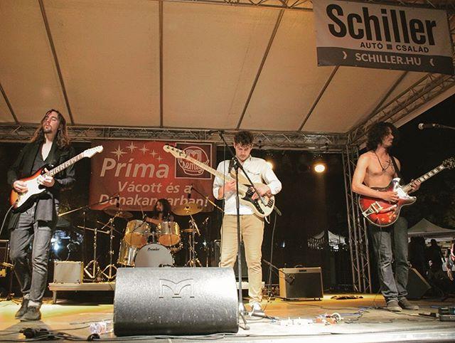 Néhány bizonyíték a szombati váci mókáról 😎🌍 . Here are some snaps documenting our fun time in Vac 😎🌍 . . . 📷@veres_kitti #3rdP #ThirdPlanet #band #music #musician #psych #psychedelic #rock #progressive #show #concert #gig #fender #premier #sandberg #drums #guitar #bass