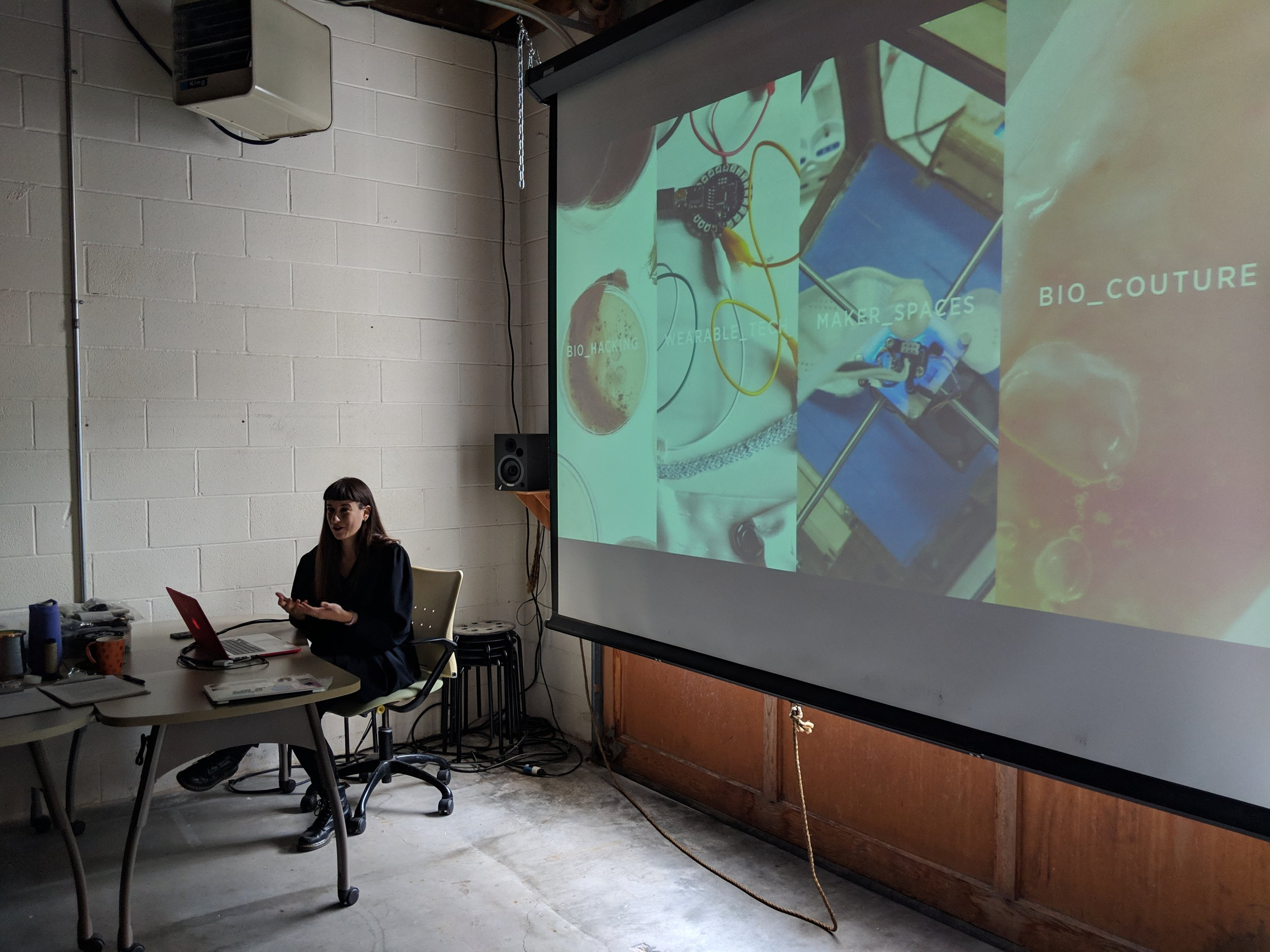 Giulia discusses her experience as a maker and the different fields she has been engaged with the past five years of her career.