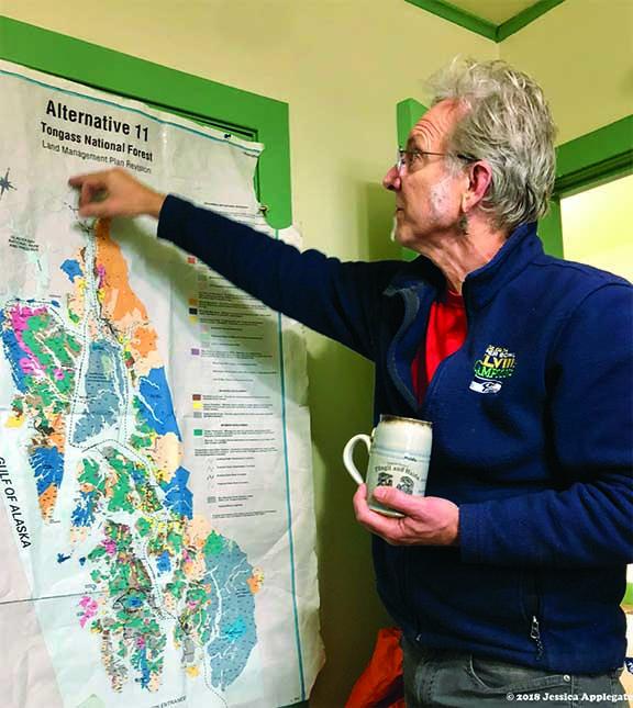 Buck Lindelkugel of the Southeast Alaska Conservation Council.