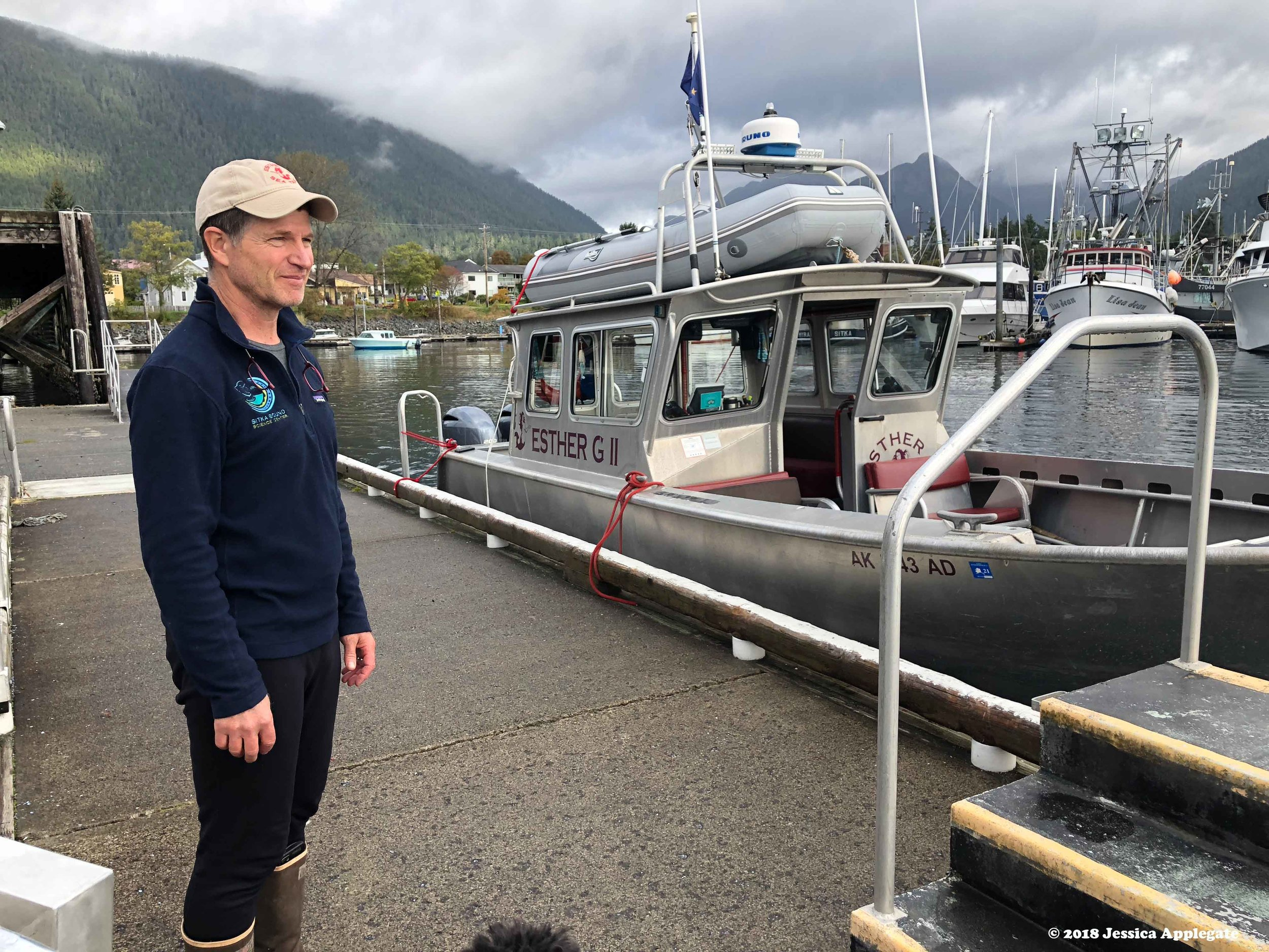 Davey Lubin, owner of Esther G Tours and Taxi in Sitka says his business asks for no taxpayer subsidies, unlike Southeast Alaska's timber industry.