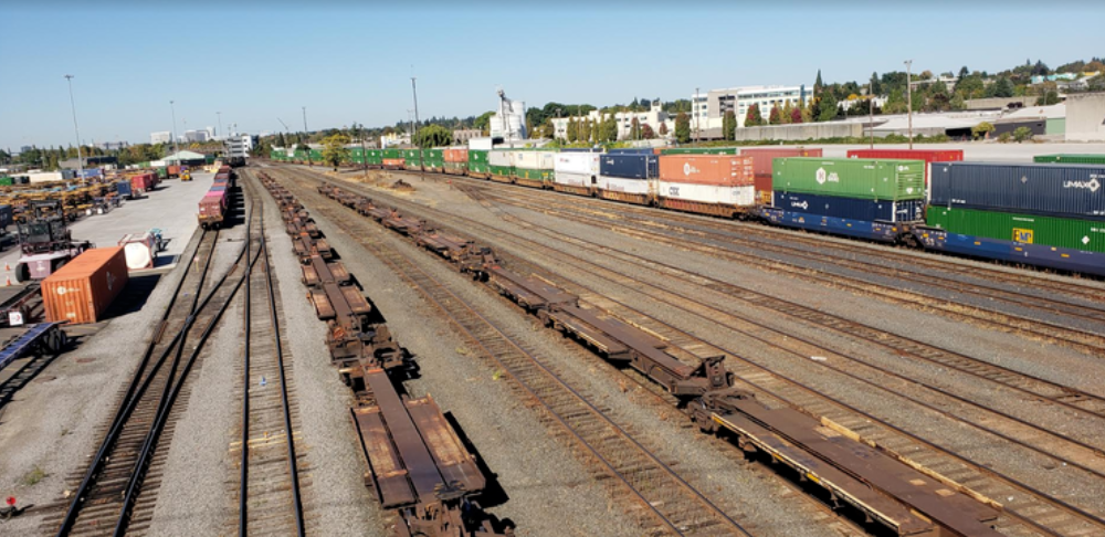 The Union Pacific's Brooklyn Railyard in Southeast Portland is a significant source of diesel pollution.