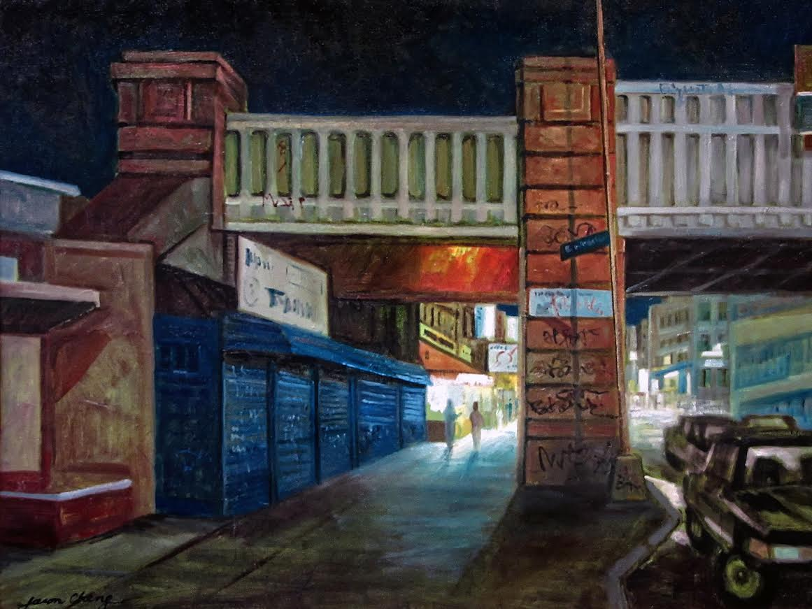 JasonChang_Flushing-Night-Scene-18x24-inches.jpg
