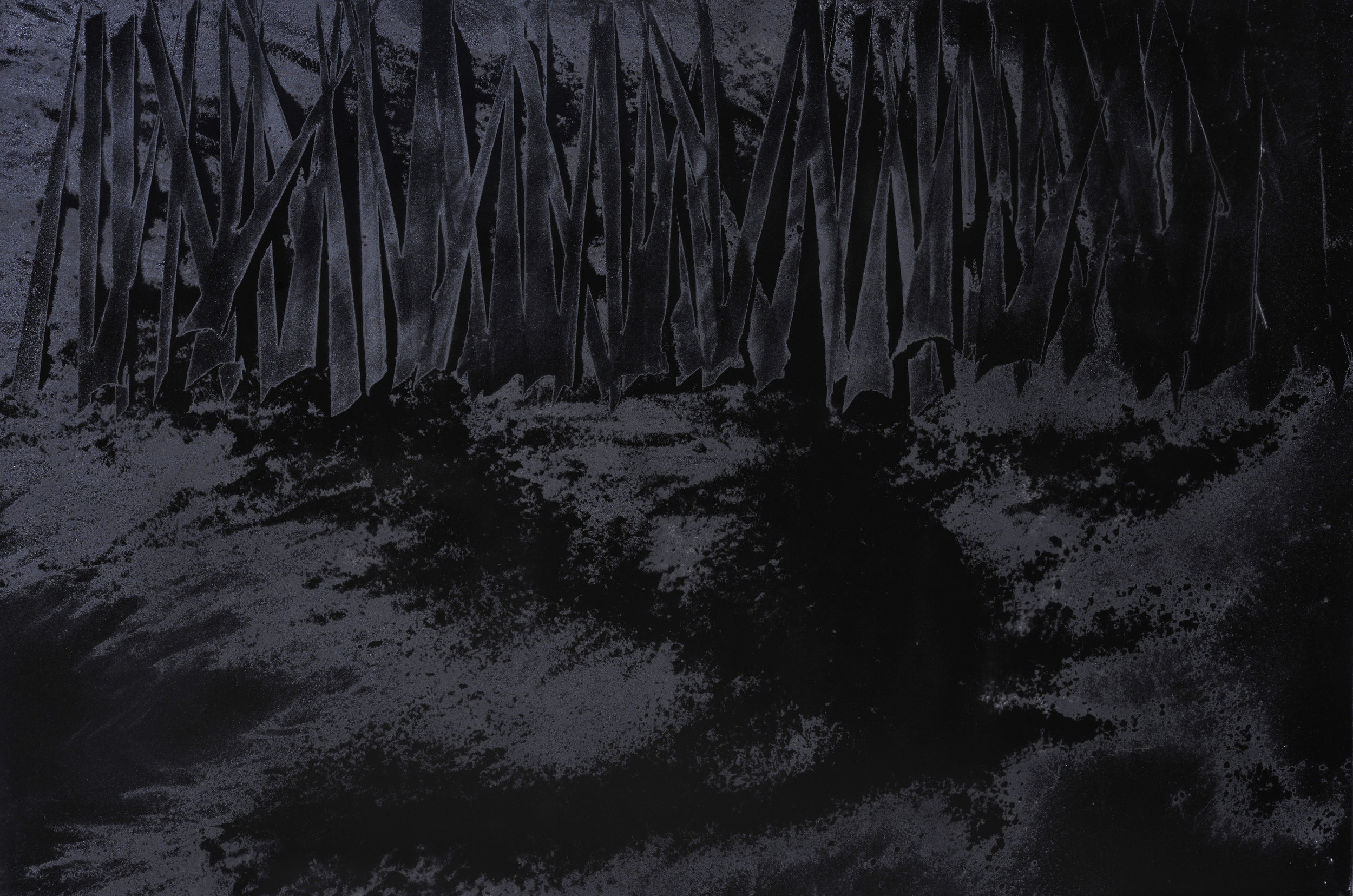 Black Void No. 2, 2016, 194cm x 130cm 120F, Oil on Canvas.jpg