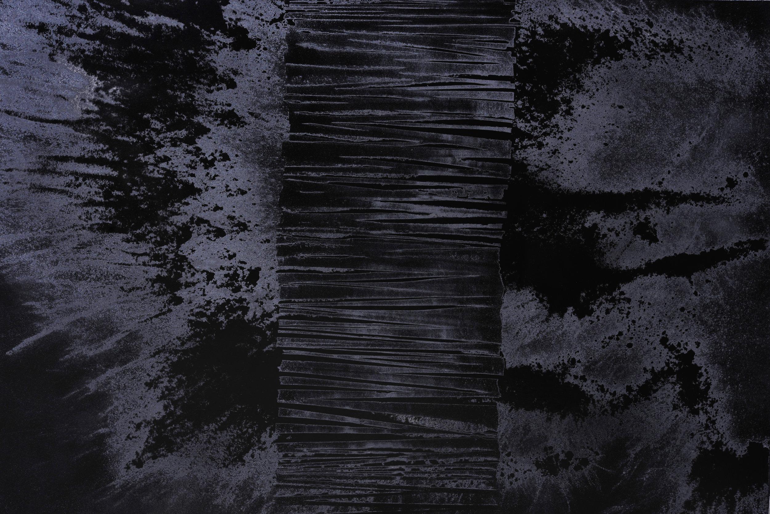 Black Void No. 1, 2016, 194cm x 130cm 120F, Oil on Canvas.jpg