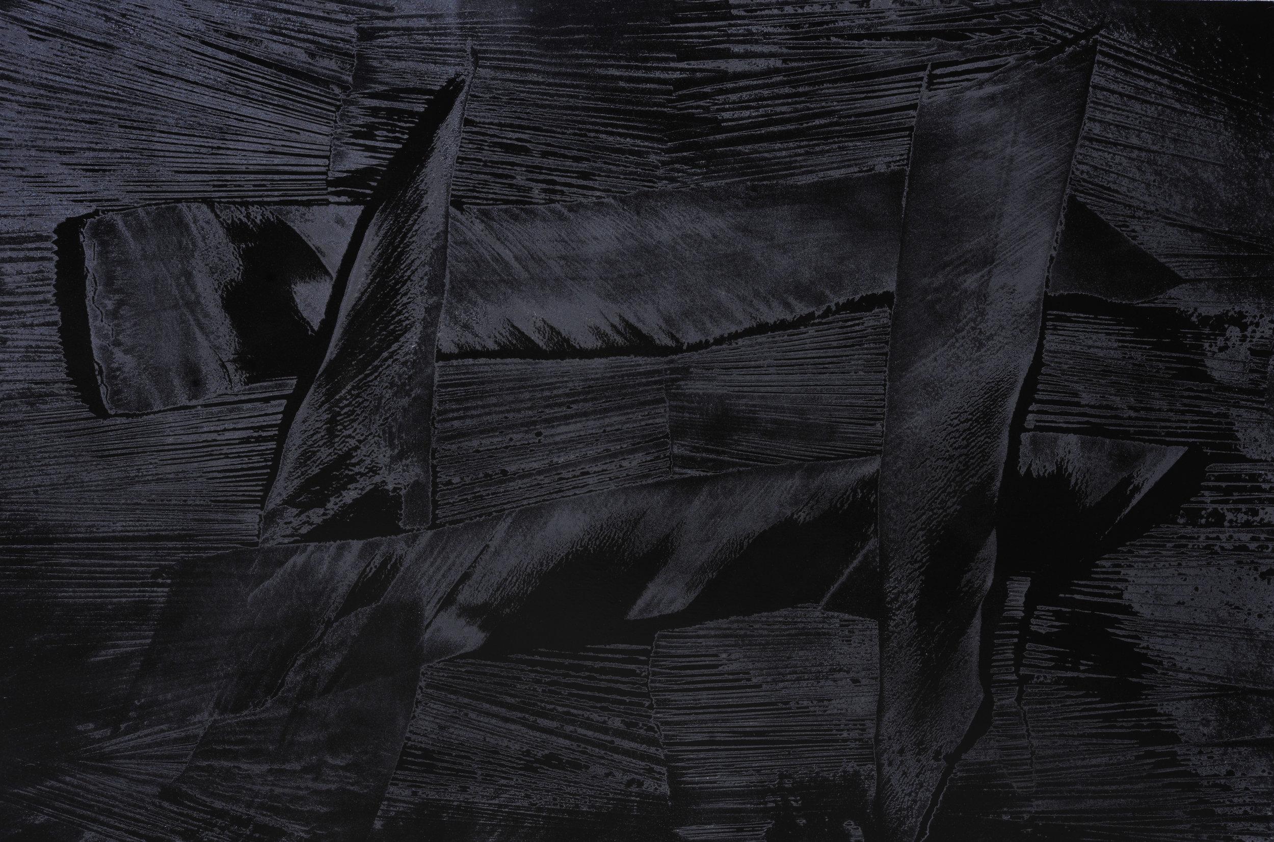 Black Void No. 3, 2016, 194cm x 130cm 120F, Oil on Canvas.jpg