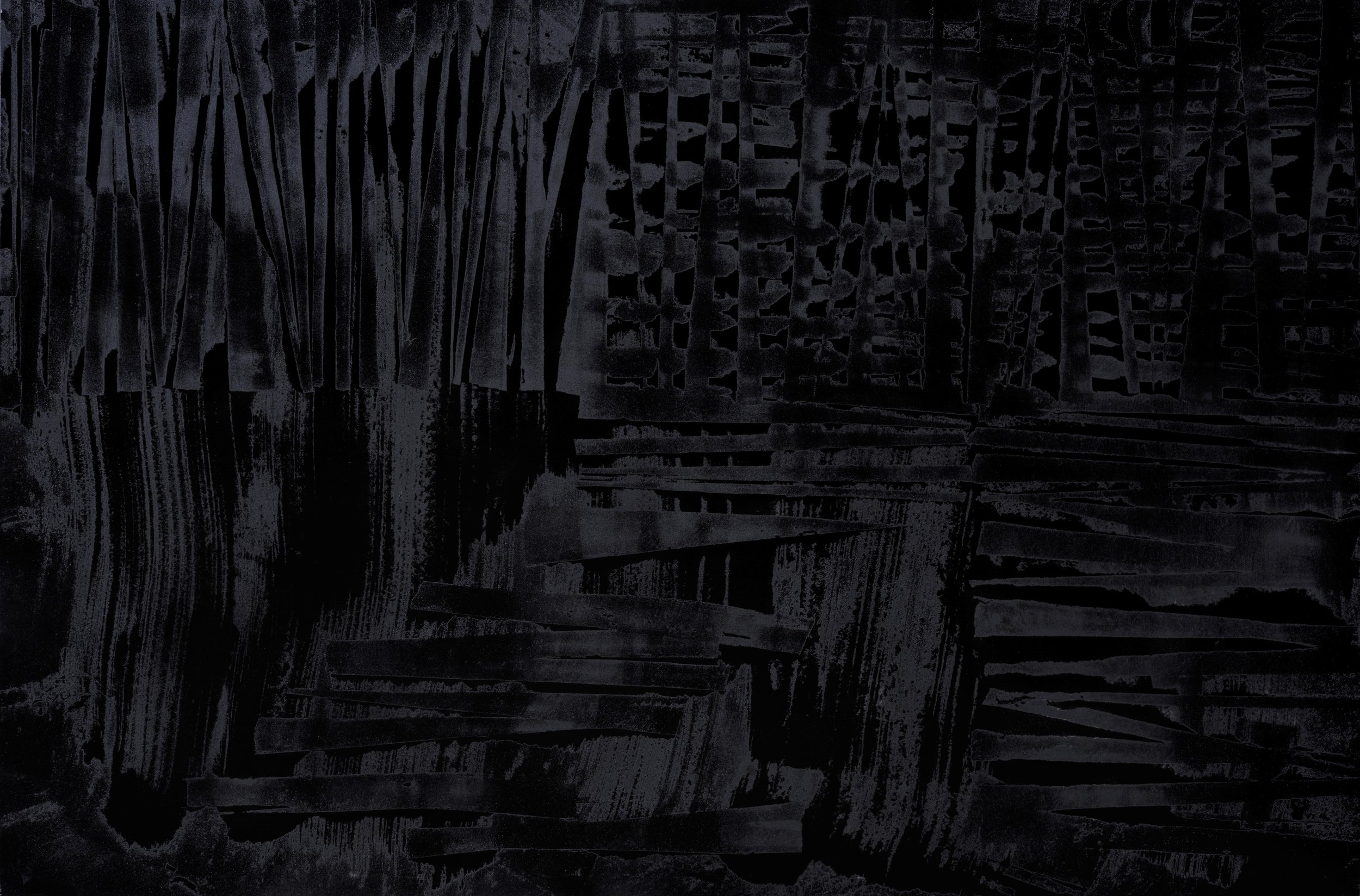 Black Void No. 6, 2016, 194cm x 130cm 120F, Oil on Canvas.jpg