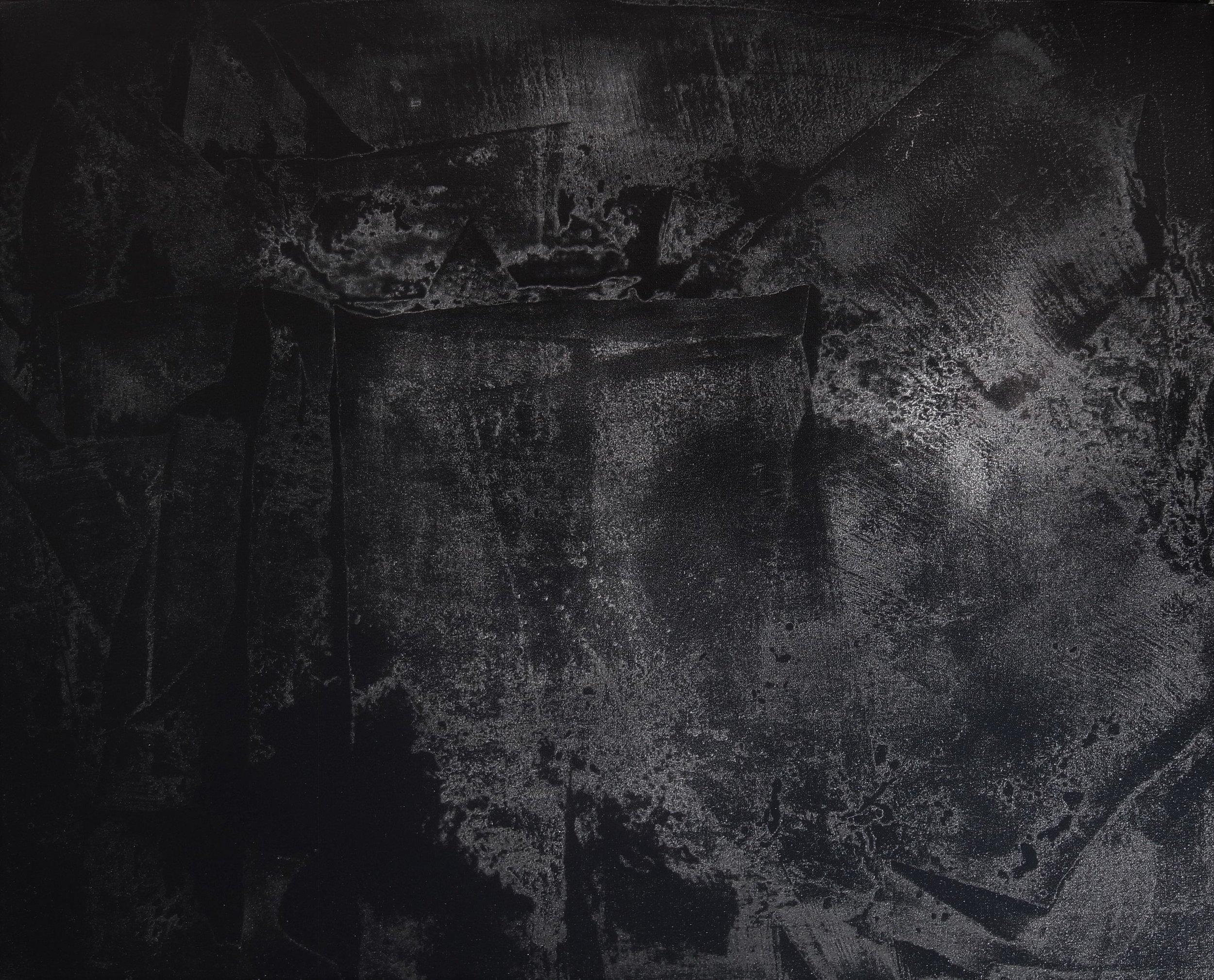 Black Void No. 12, 2016, 100cm x 80cm 40F, Oil on Canvas.JPG