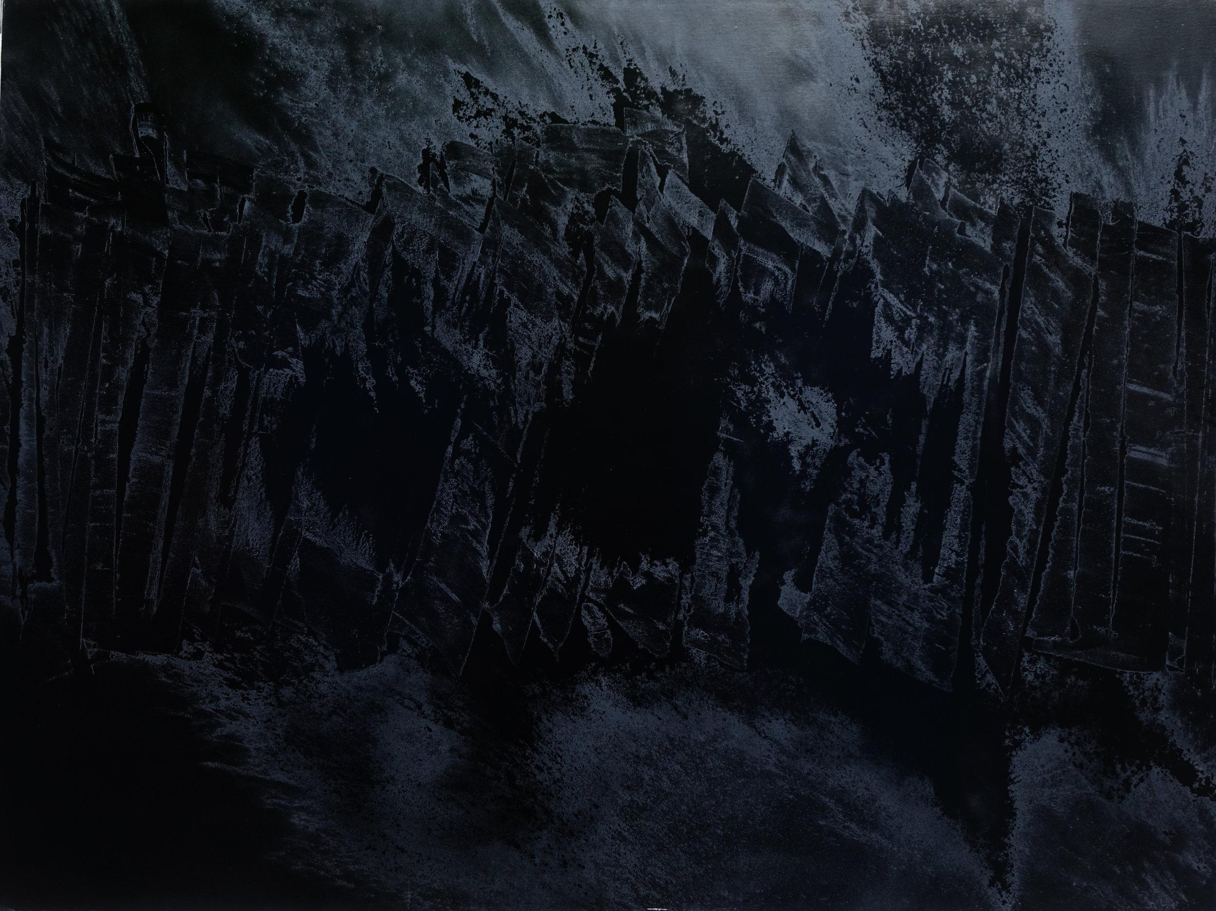 Black Void No. 13, 2017, 259cm x 194cm 200F, Oil on Canvas.jpg