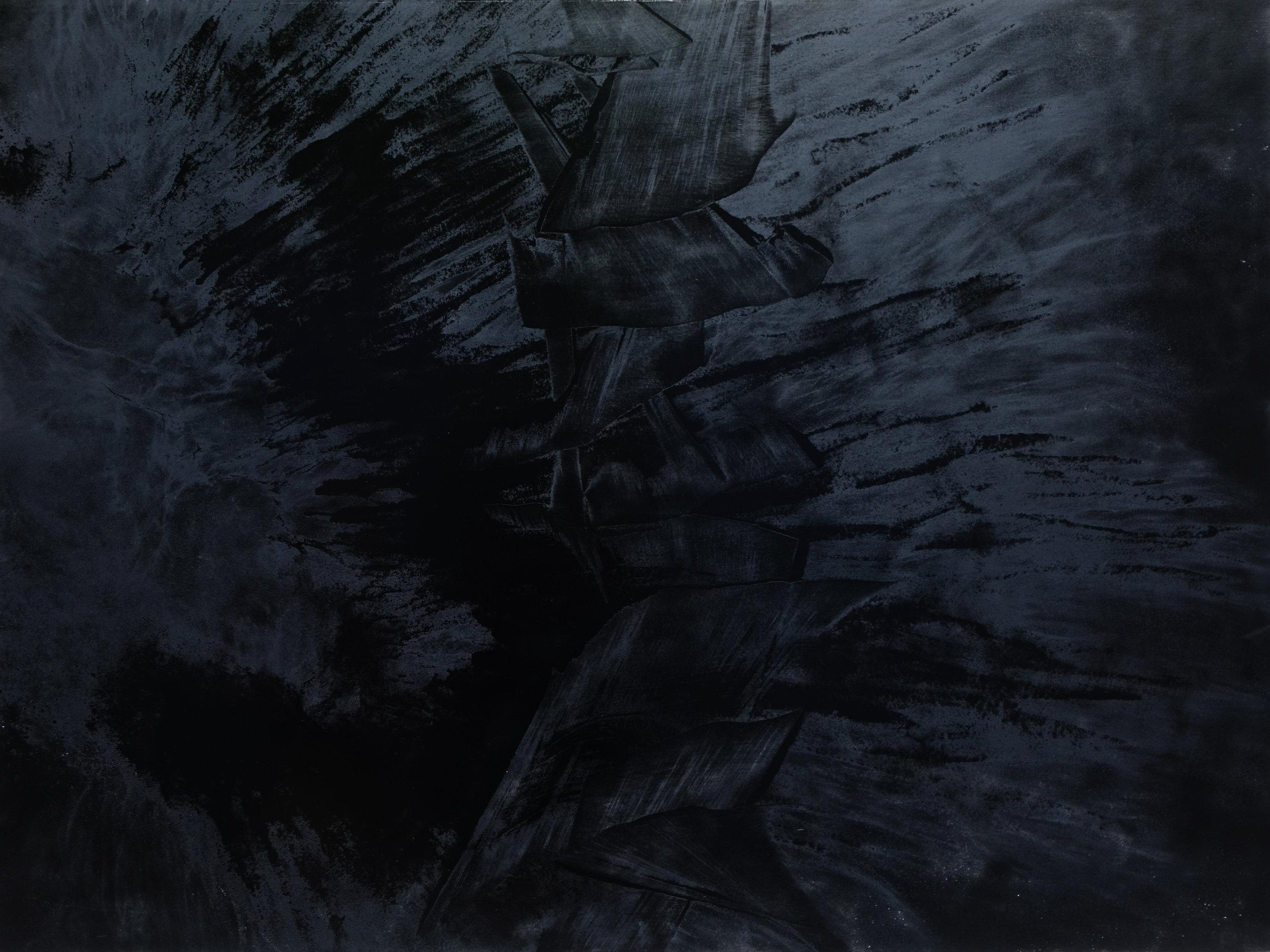 Black Void No. 16, 2017, 259cm x 194cm 200F, Oil on Canvas.jpg
