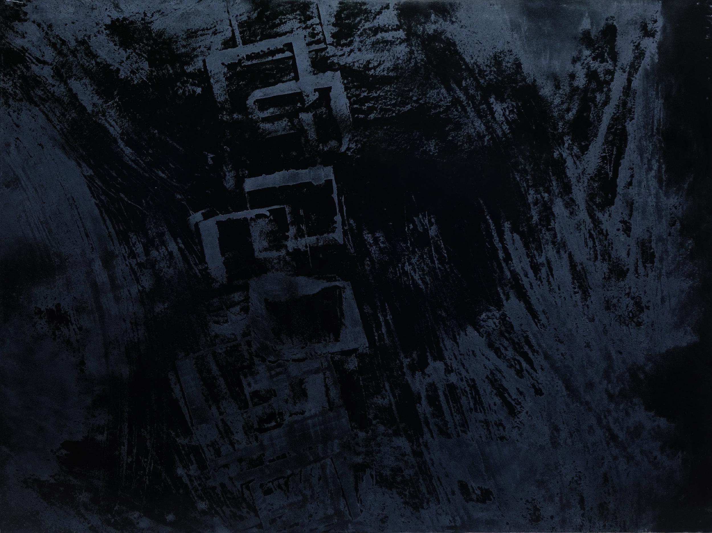 Black Void No. 17, 2017, 259cm x 194cm 200F, Oil on Canvas.jpg